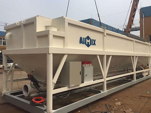 horizontal type cement silo