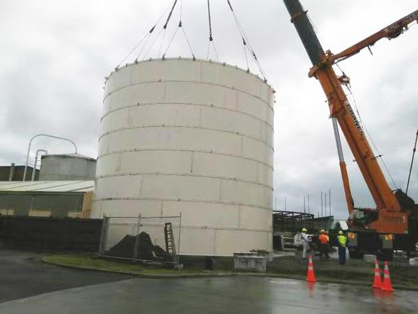 install cement silo