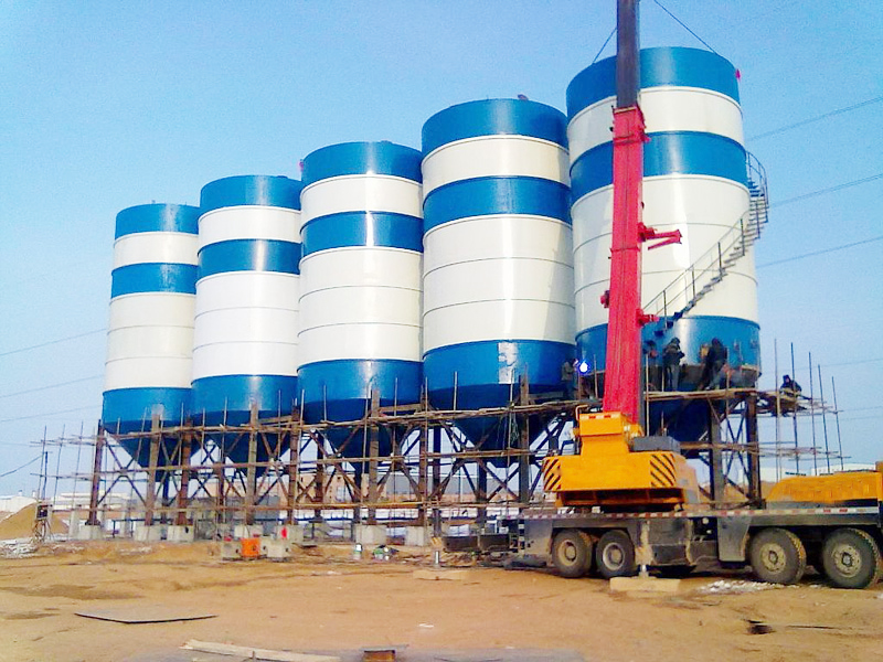 welded type silo for sale