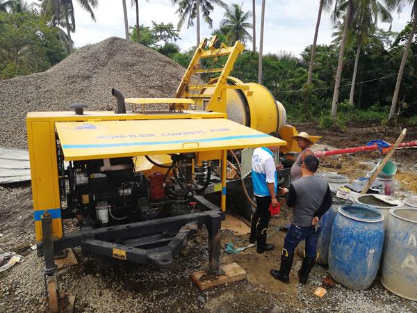 ABJZ40C mobile mixer pump