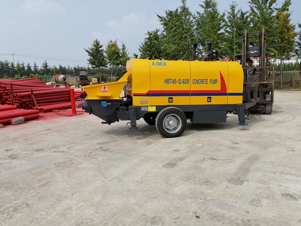HBTS40 stationary concrete pump