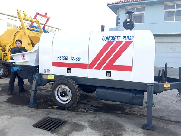 ABT60C stationary concrete pump for sale