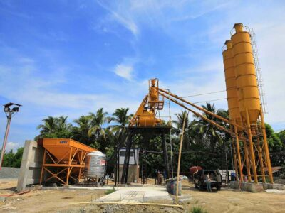 AJ35 stationary batching plant Philippines