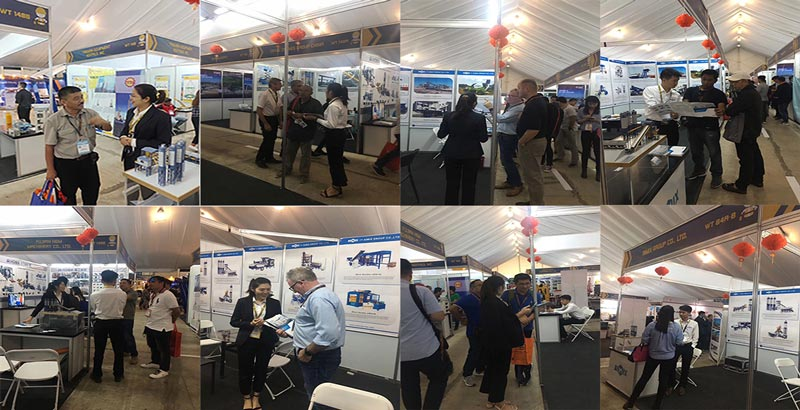 Customers in The Philconstruct Manila Exhibition 2019