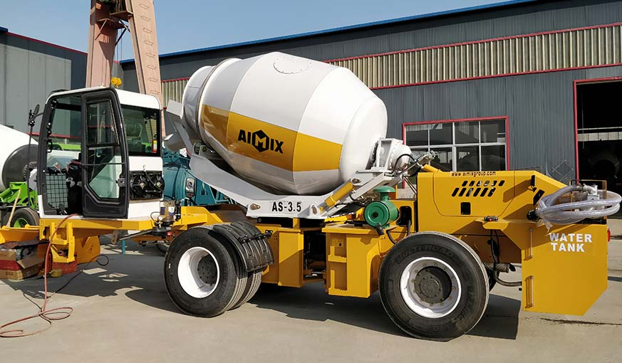 3.5 cub self loading mixer to Bataan Philippines in December 2019