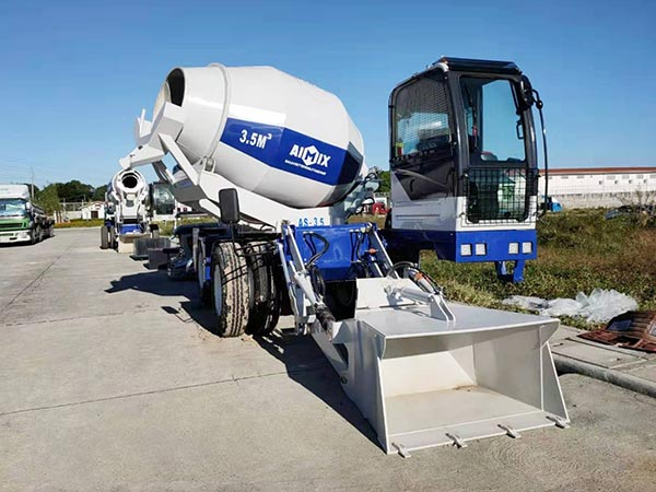 3.5 self-loading concrete mixer truck to Bataan Philippines