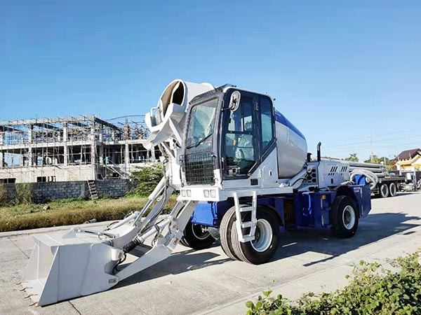 5.5 self-loading concrete mixer to Bataan Philippines