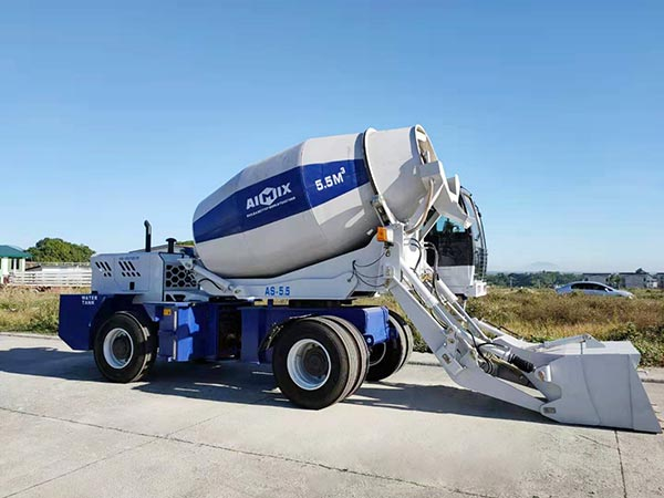 5.5 self-loading mixer truck to Bataan Philippines