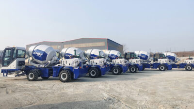 6 Sets 1.8 Self-Loading Concrete Mixer Truck To Bataan Philippines