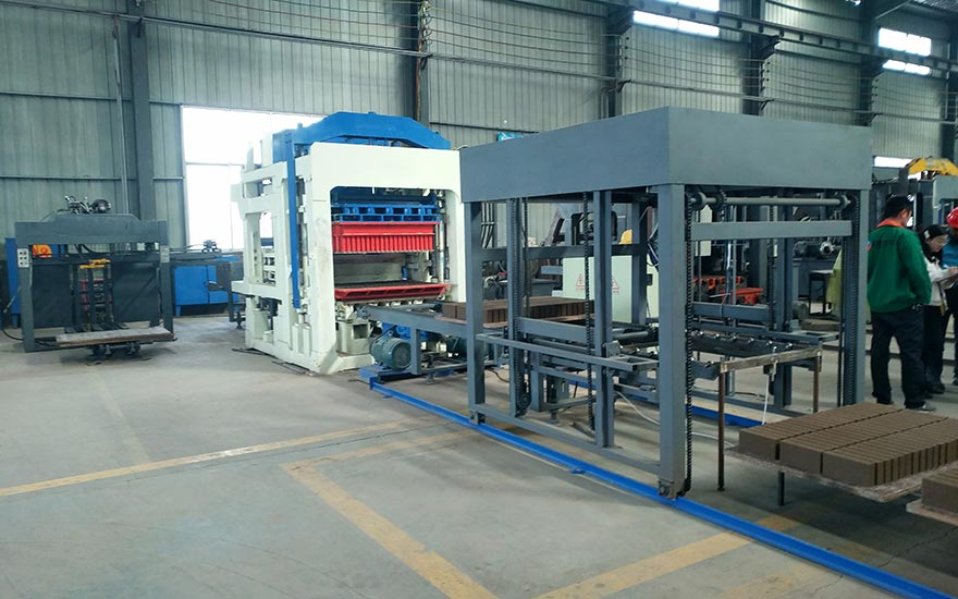 ABM10S Hollow Block Making Machine For Sale