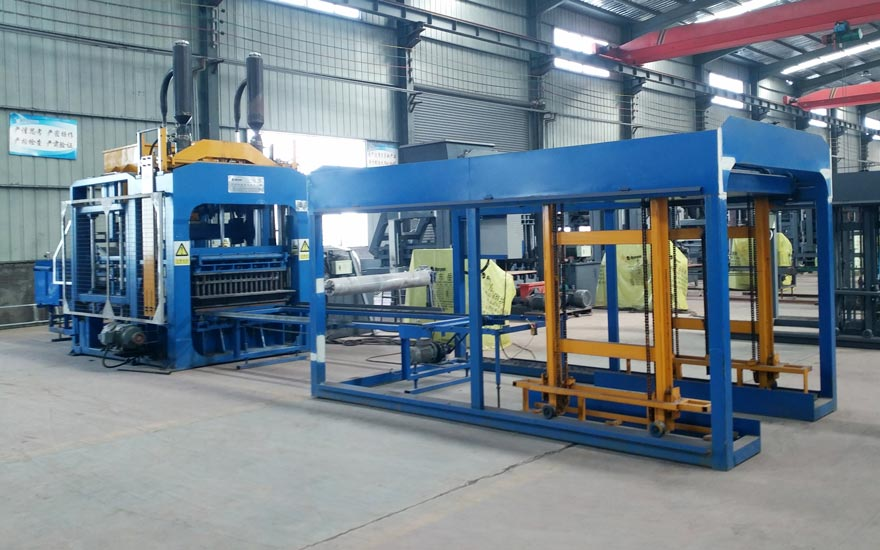ABM8S Automatic hollow block making machine