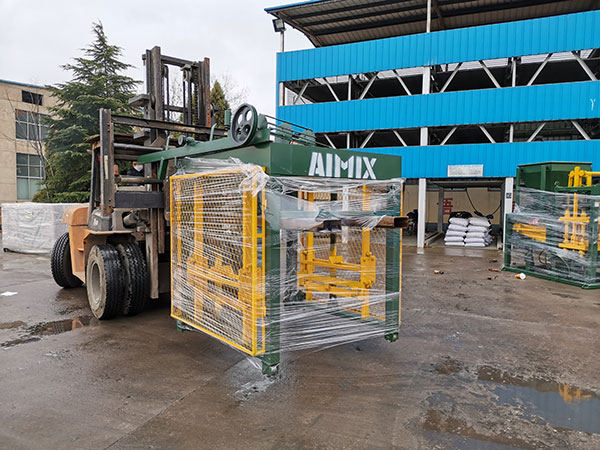 ABM-4S cement block machine to Philippines