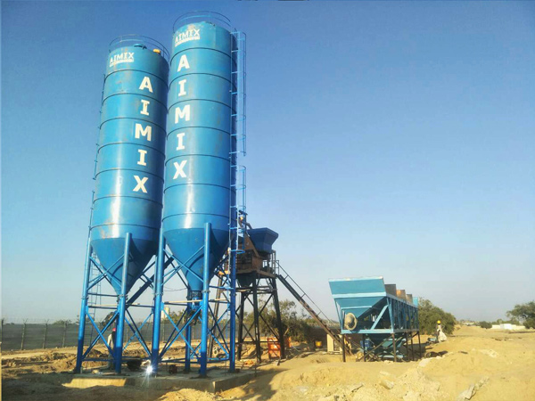 100 Ton Welded Type Cement Silos in Pakistan