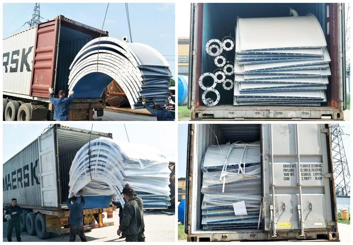 100 Ton bolted type cement silo to australia