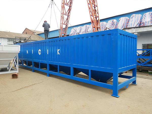 50 Ton Horizontal Cement Silo to Malaysia