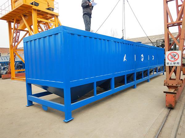 50 Ton Horizontal Silo to Malaysia