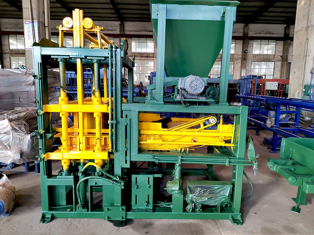 ABM-4S Brick Making Machine To Philippines