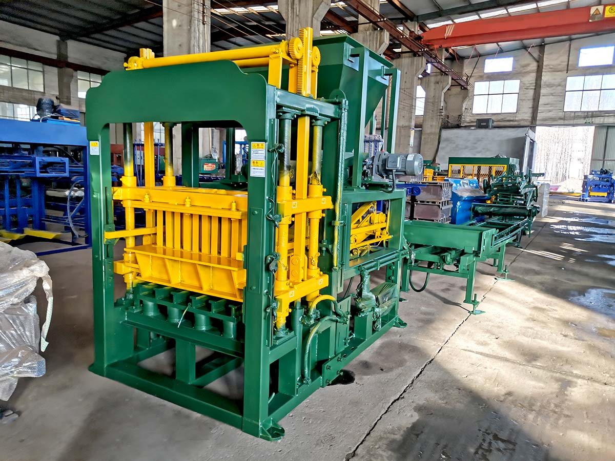 ABM-4S automatic block making machine to Philippines