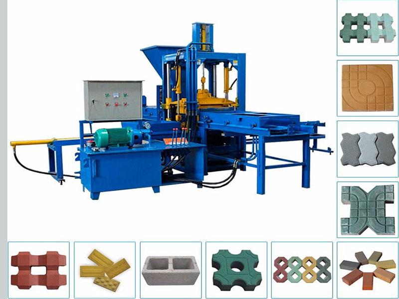 ABM3S Semi automatic block making machine