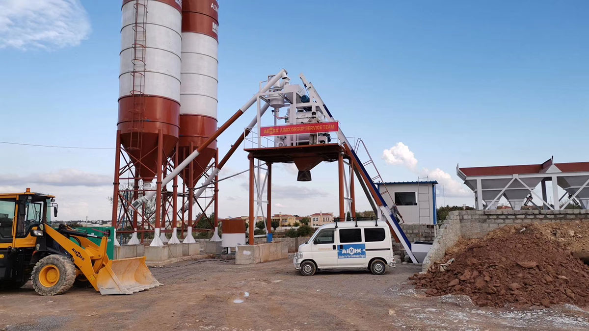 Welded type cement storage silo used for concrete batching plant