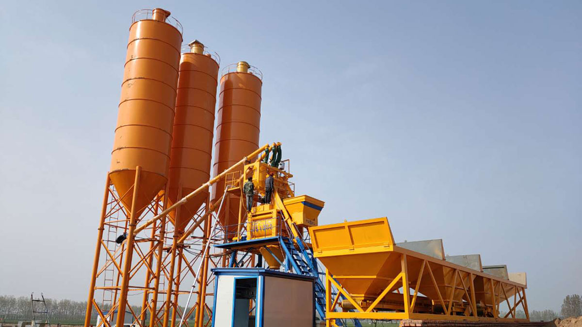 Welded types of cement silo