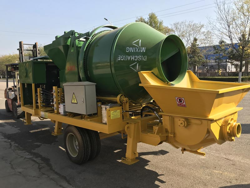 ABJZ40C Diesel Drum Mixing Pump
