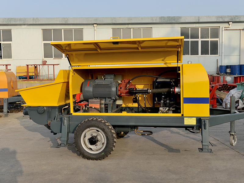 ABT 40C electric trailer concrte pump