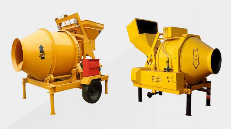 Drum Concrete Mixer (Electric and Diesel)
