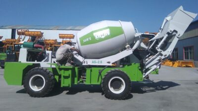 2.6 Cub Self-loading Concrete Mixer to Philippines