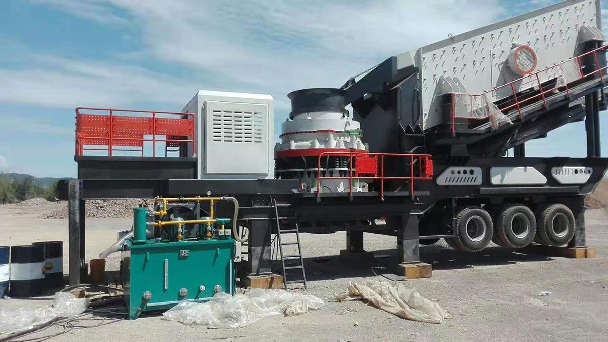 VPC Series Mobile Cone crusher truck