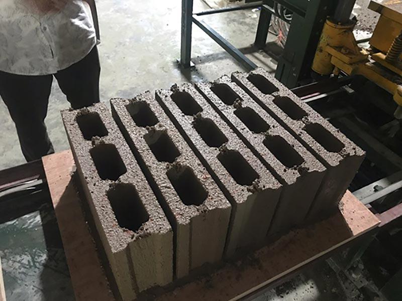 CHB Hollow block machine in Bangladesh