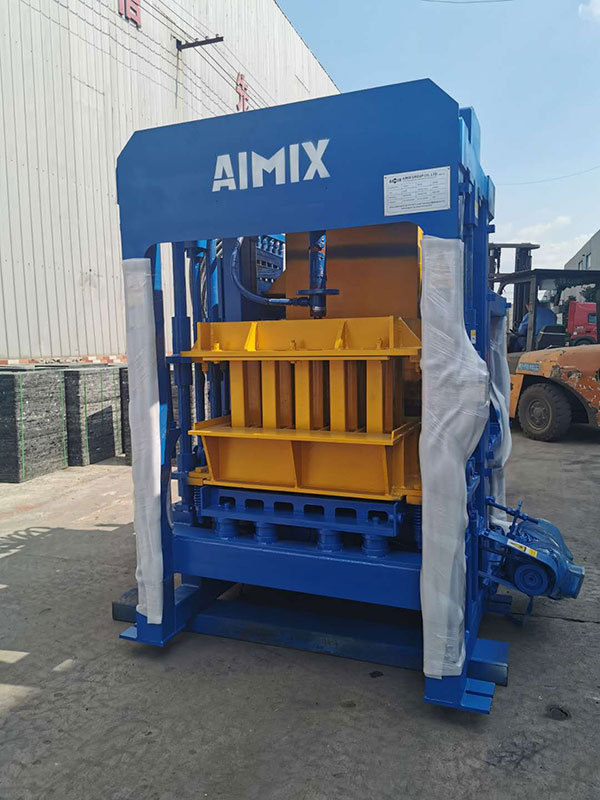 Transport ABM4S brick making machine to Tanzania