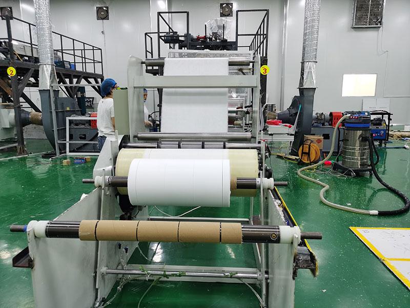 DBH-600 meltblown nonwoven fabric machine