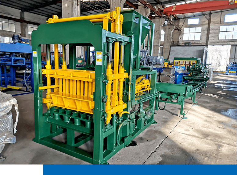 Deliver ABM-4S CHB hollow block machine to Philippines