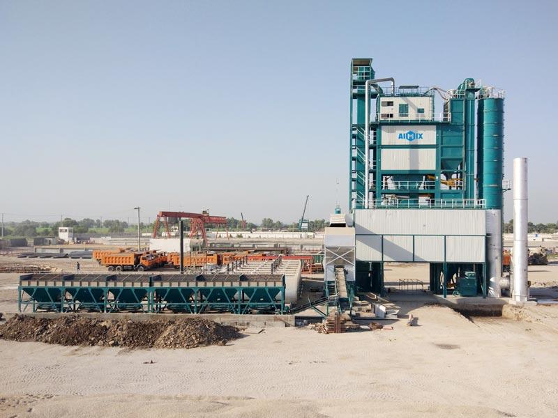 ALQ320 large asphalt plant