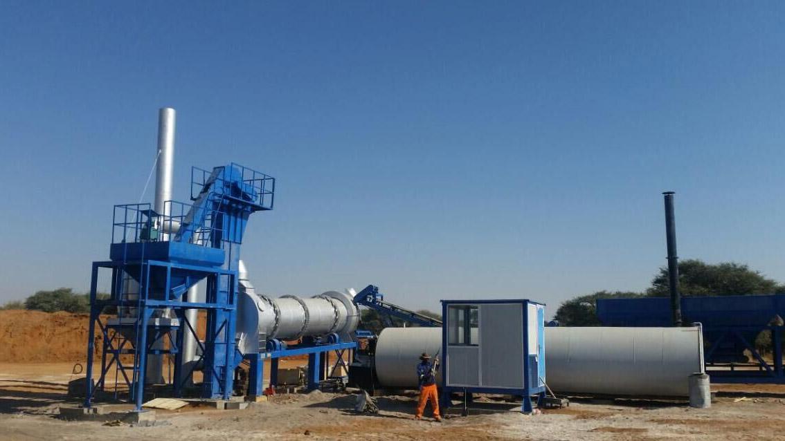 ALT60 asphalt drum plant in Bozwana