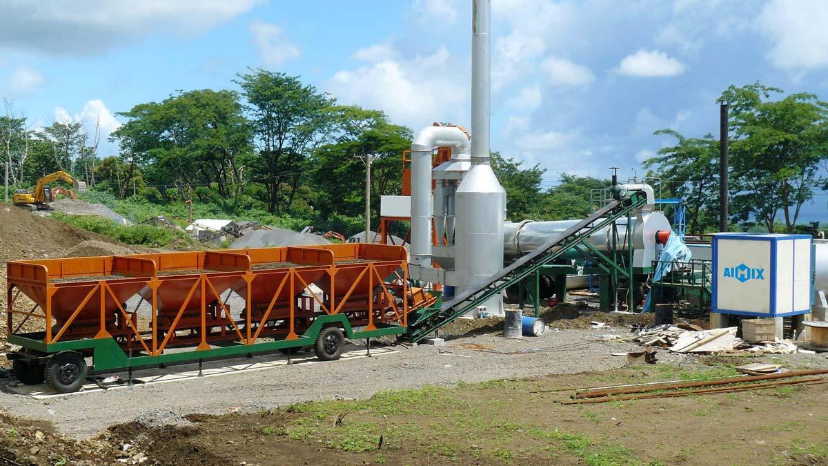 ALT60 Drum asphalt plant in the Philippines