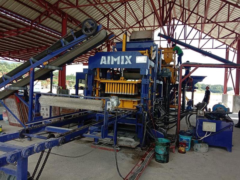 ABM4S CHB Block Machine In Manila, The Philippines
