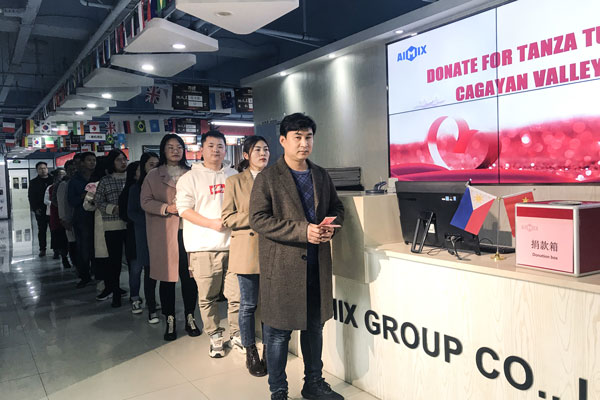 We, AIMIX Group, have always been with the Filipino people