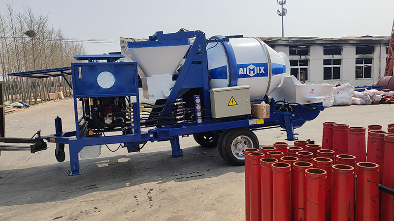 ABJZ40C Mixer Pump to the Philippines